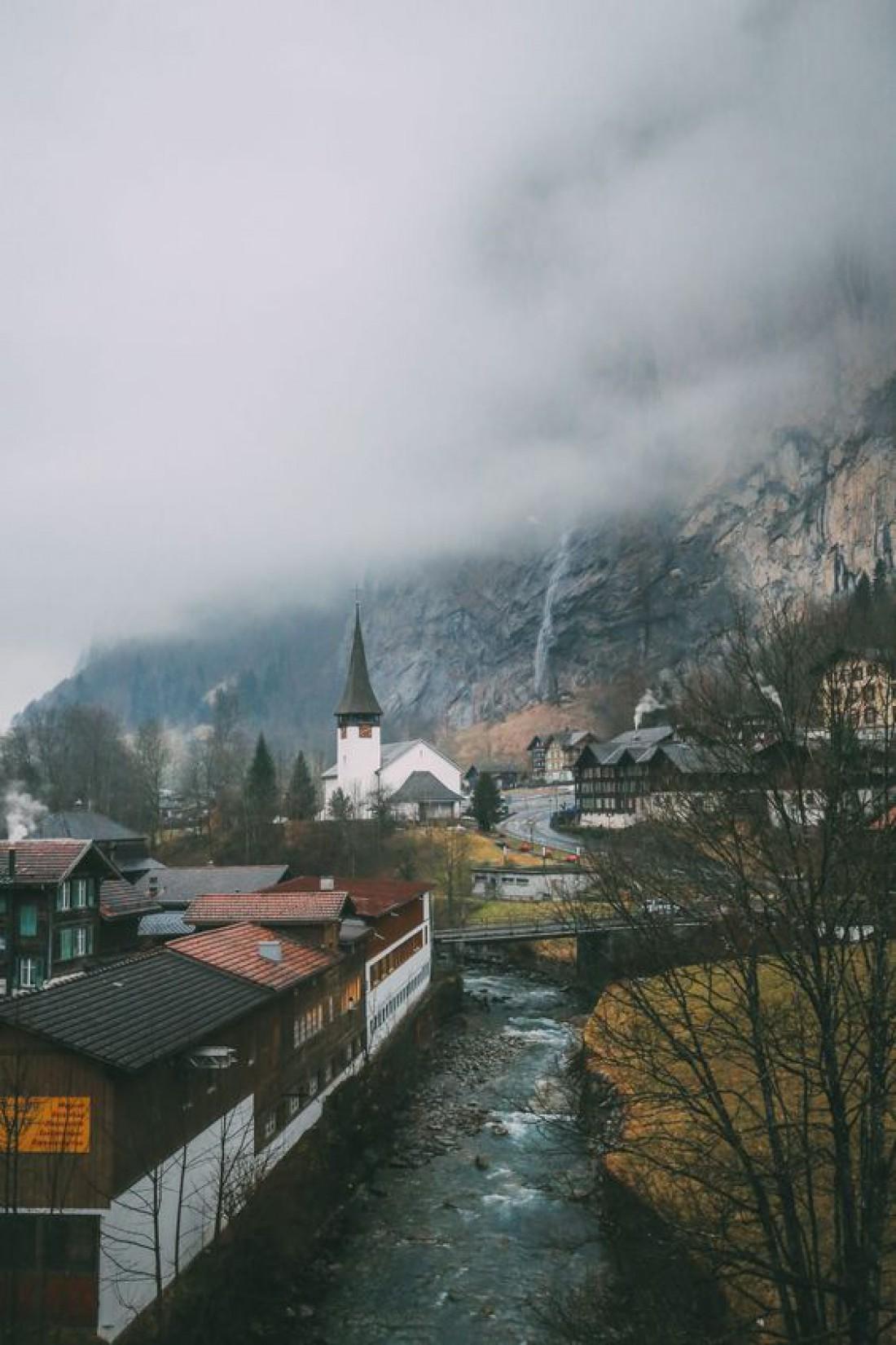 Юнгфрау - популярное туристическое место с горнолыжным курортом