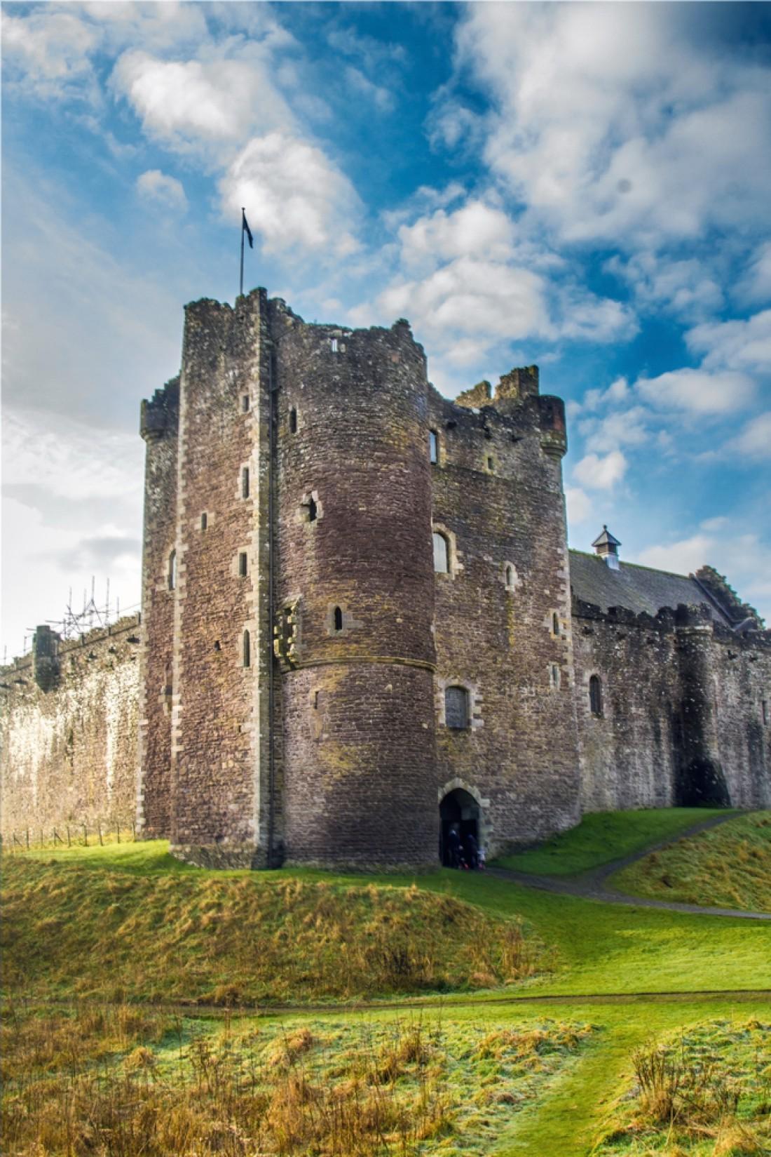 Замок Дун. Стерлинг, Шотландия