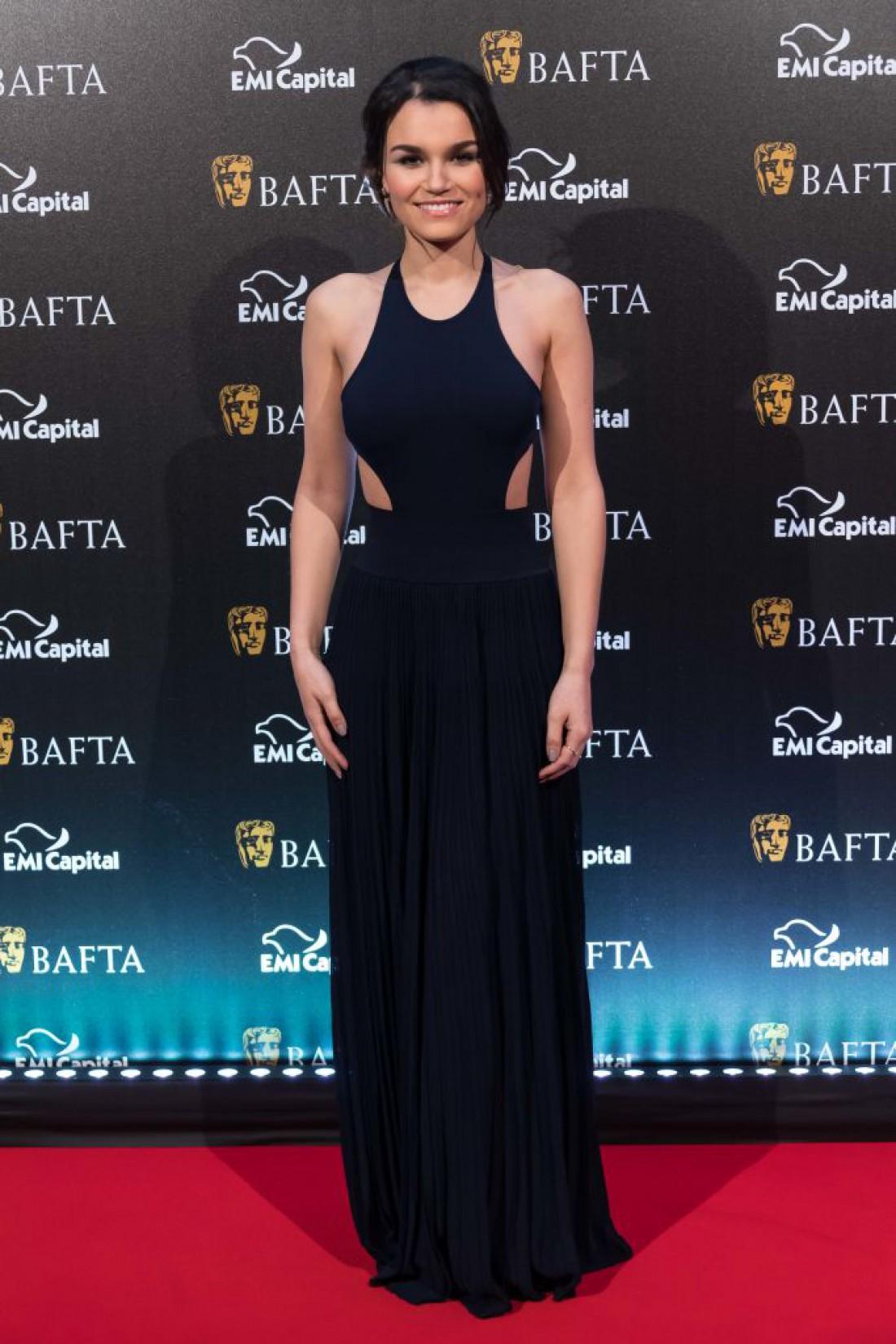 Саманта Баркс на премии BAFTA 2017