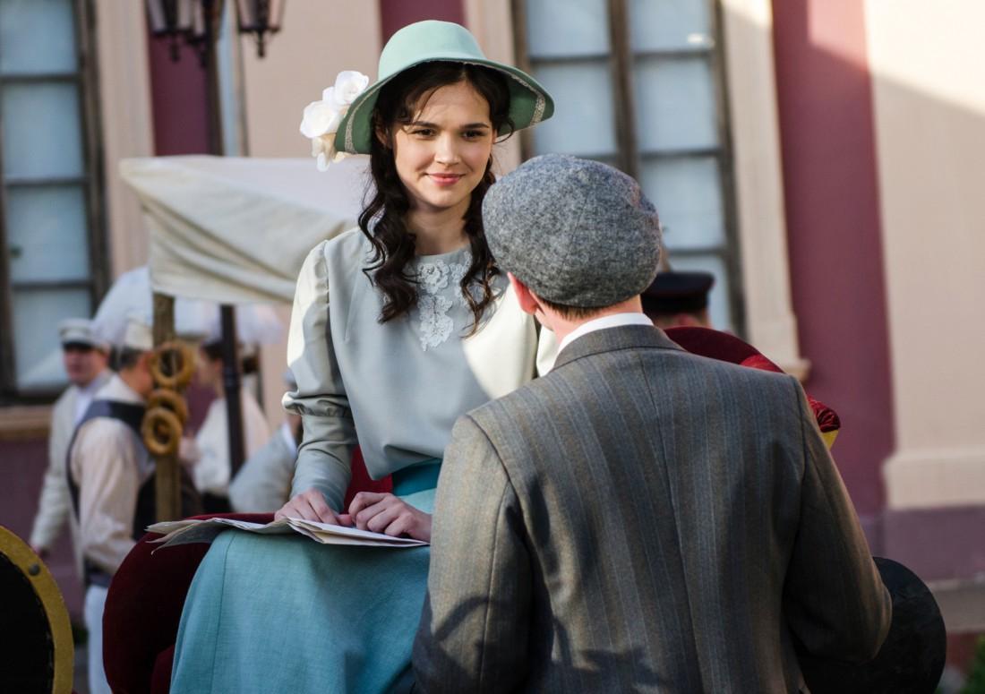 Ольга Виниченко сыграла девушку из аристократичной семьи