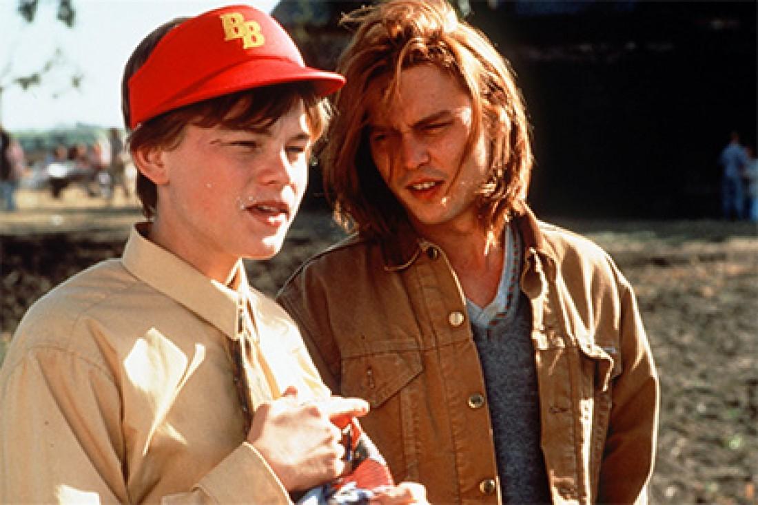Джонни Депп и леонардо Ди Каприо (1993 год)