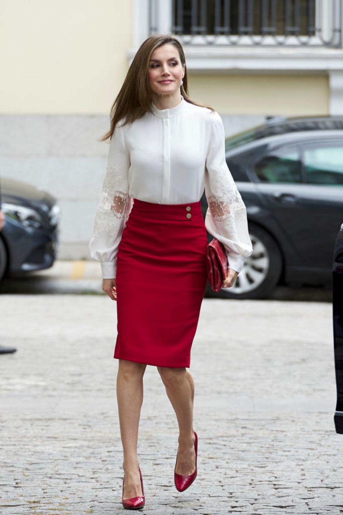 Королева Летиция в Мадриде