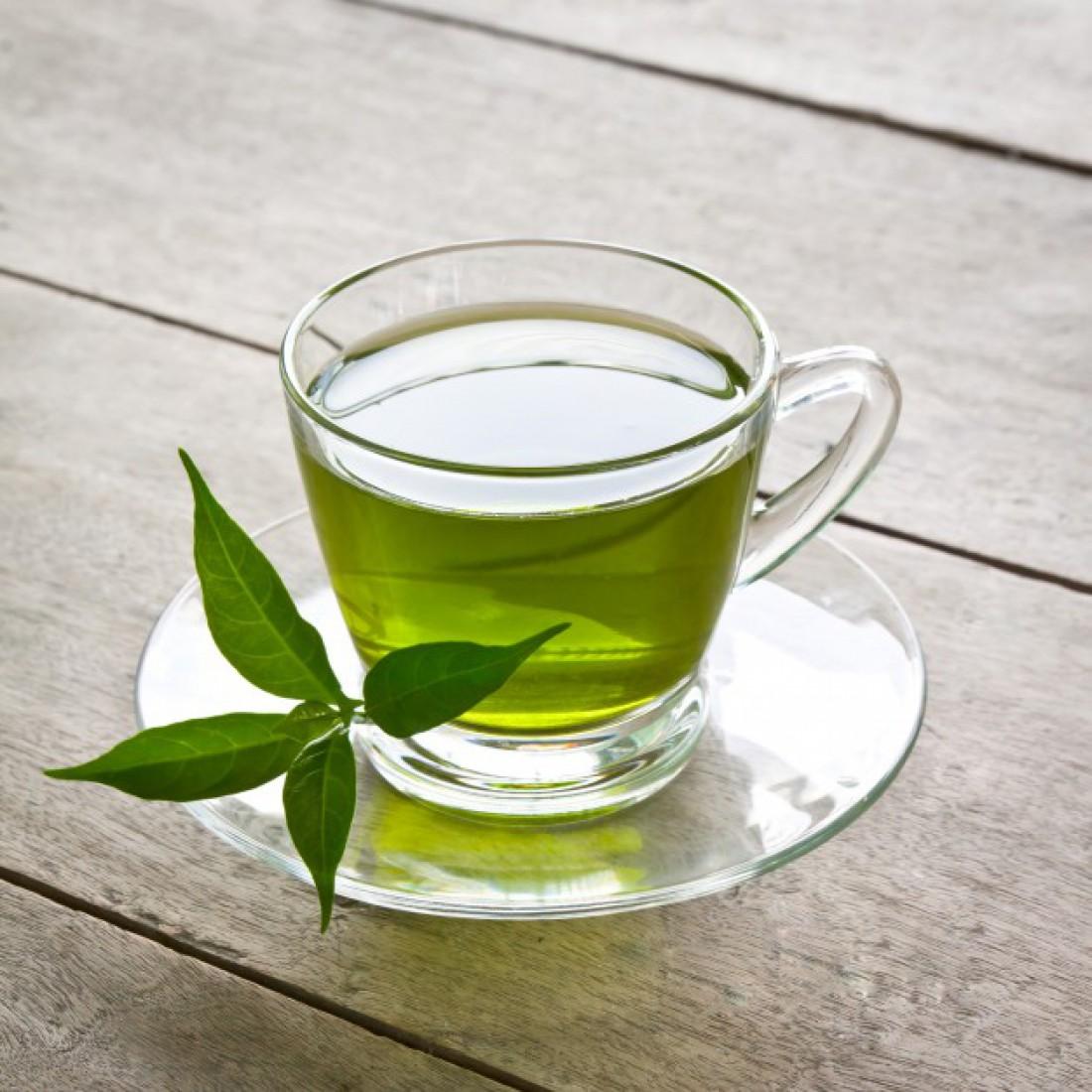 Зеленый чай богат катехинами