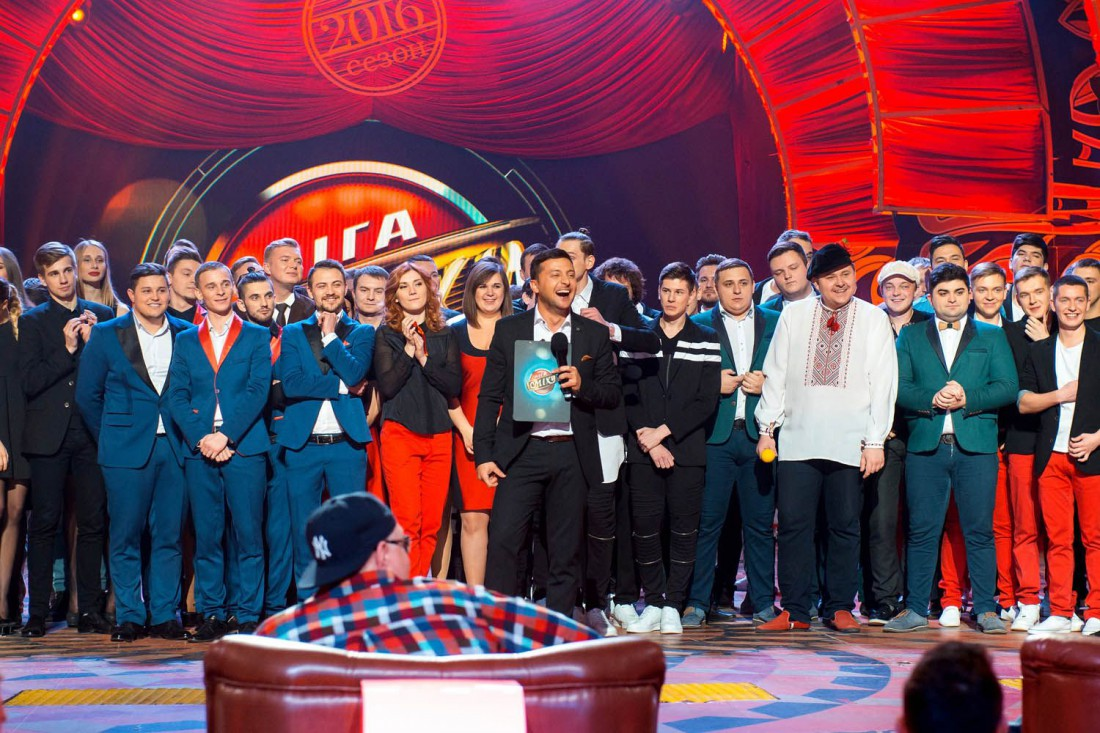 Второй Чемпионата Украины по юмору Лига смеха-2016