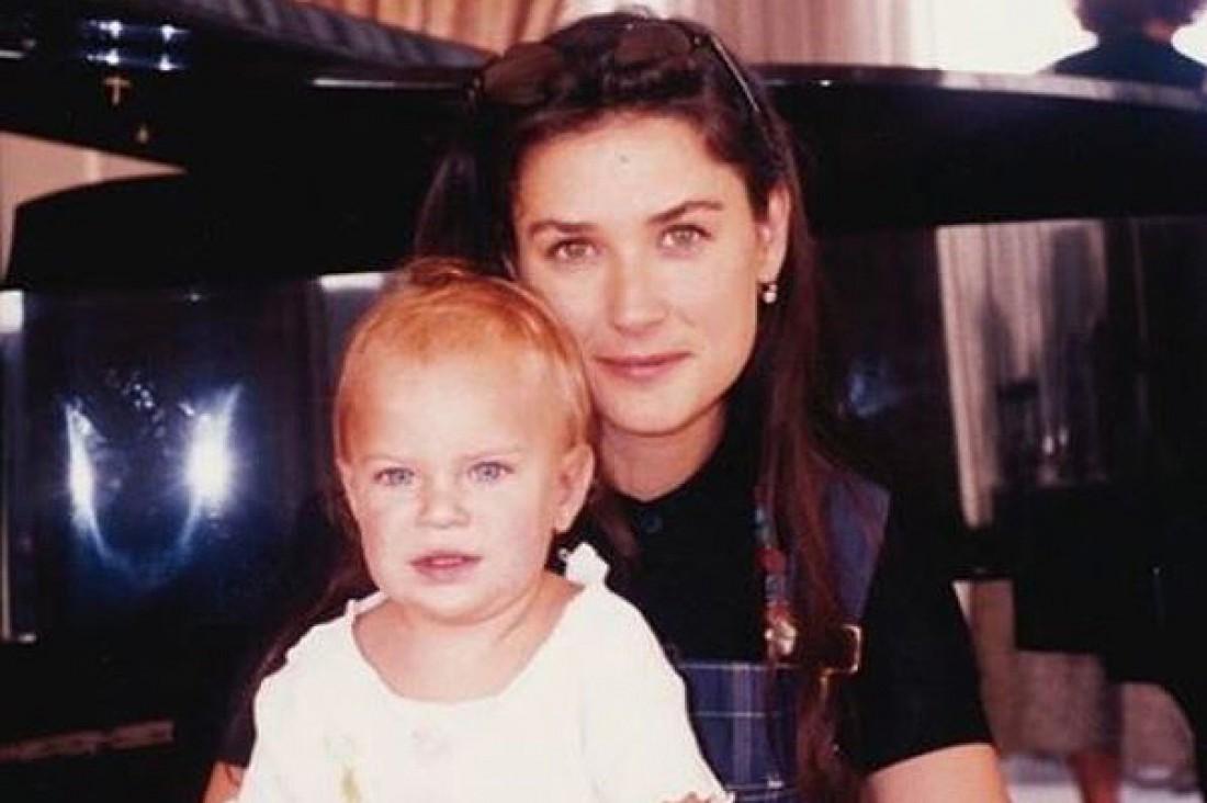 Мур с дочкой