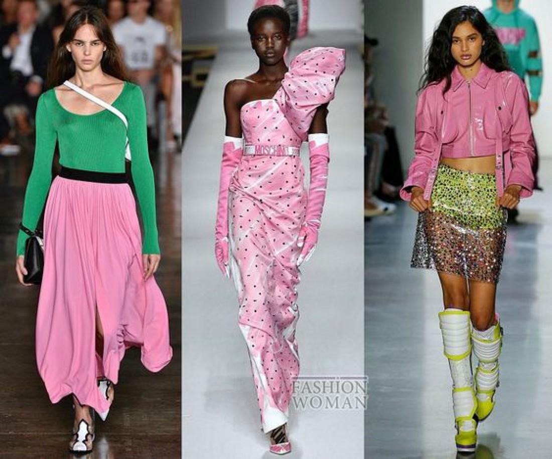 Модные цвета весна 2019