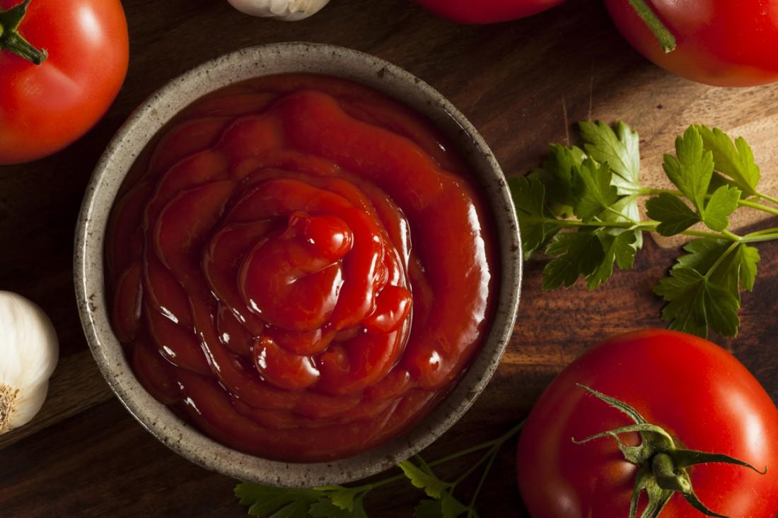 Натуральный кетчуп делается есть только из помидоров