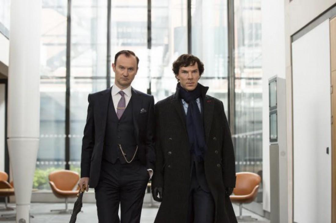 Эпизод из сериала Шерлок