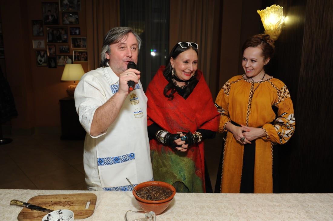 Иван Гаврон, Лариса Кадочникова и Татьяна Гончарова