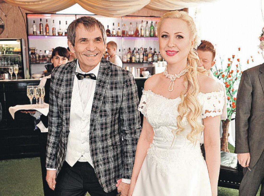 Бари Алибасов с женой Викторией Максимовой