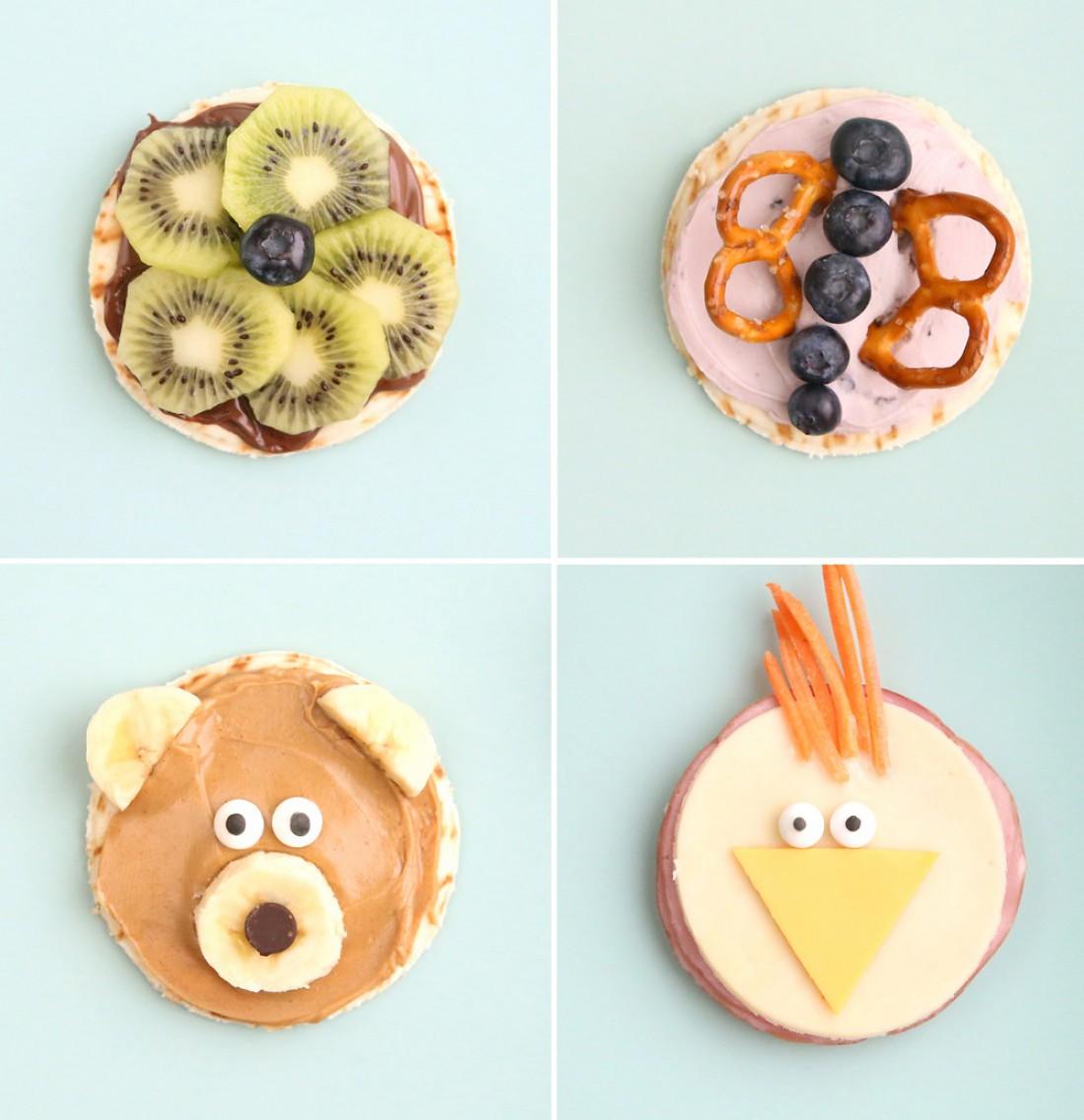 Здоровые детские перекусы