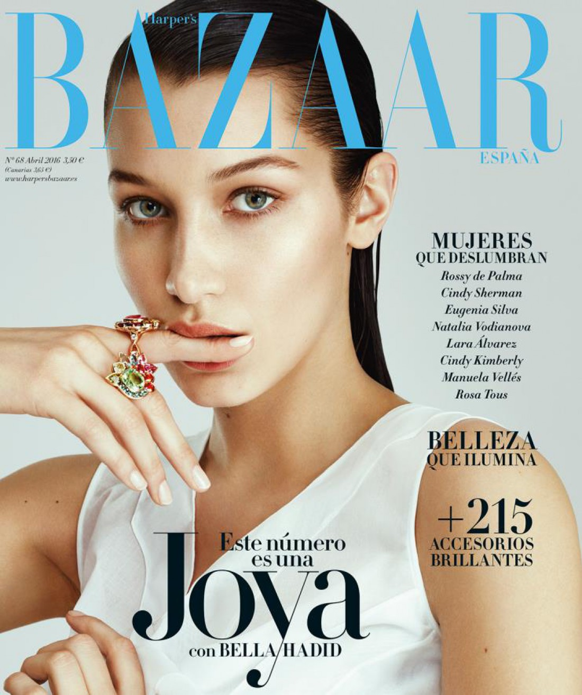 Белла Хадид на обложке Harper's Bazaar