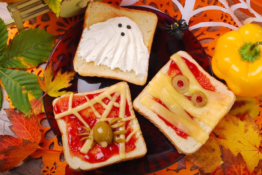 Тосты на Хэллоуин