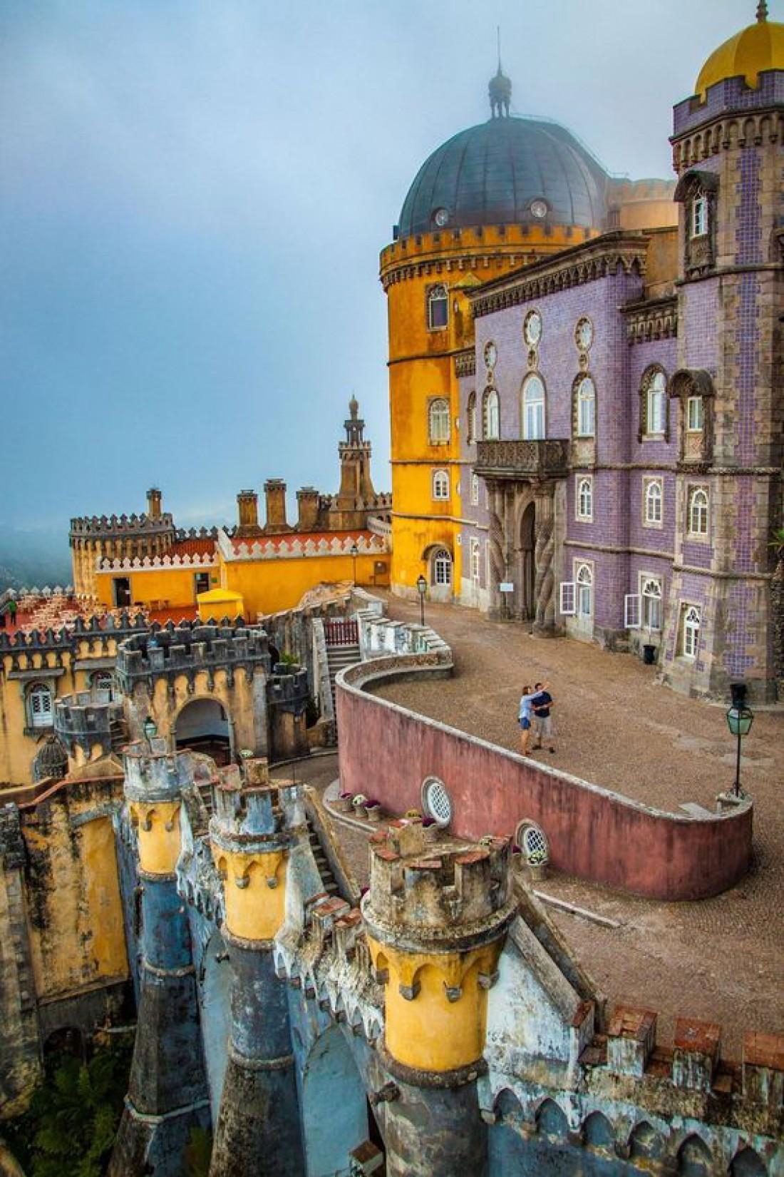 Дворец Пена - гордость принца Фердинанда Саксен-Кобург-Готского