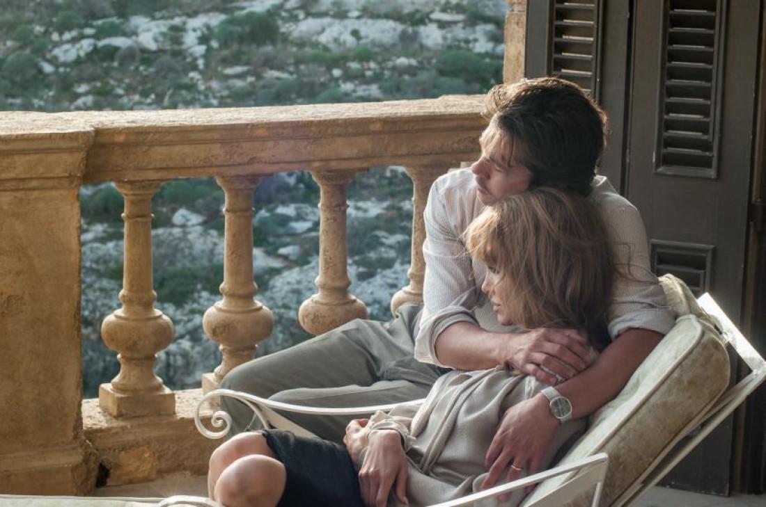 У моря: Анджелина Джоли и Брэд Питт
