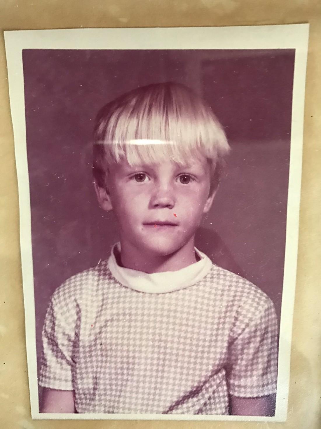 Брайан Краузе в детстве