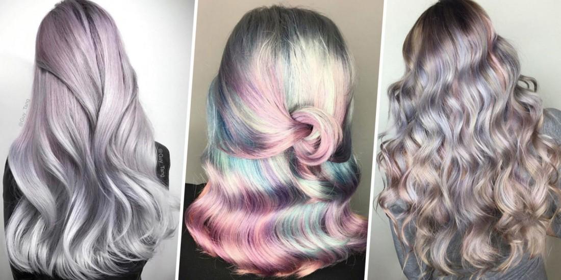 Перламутровые волосы – новый тренд в окрашивании волос