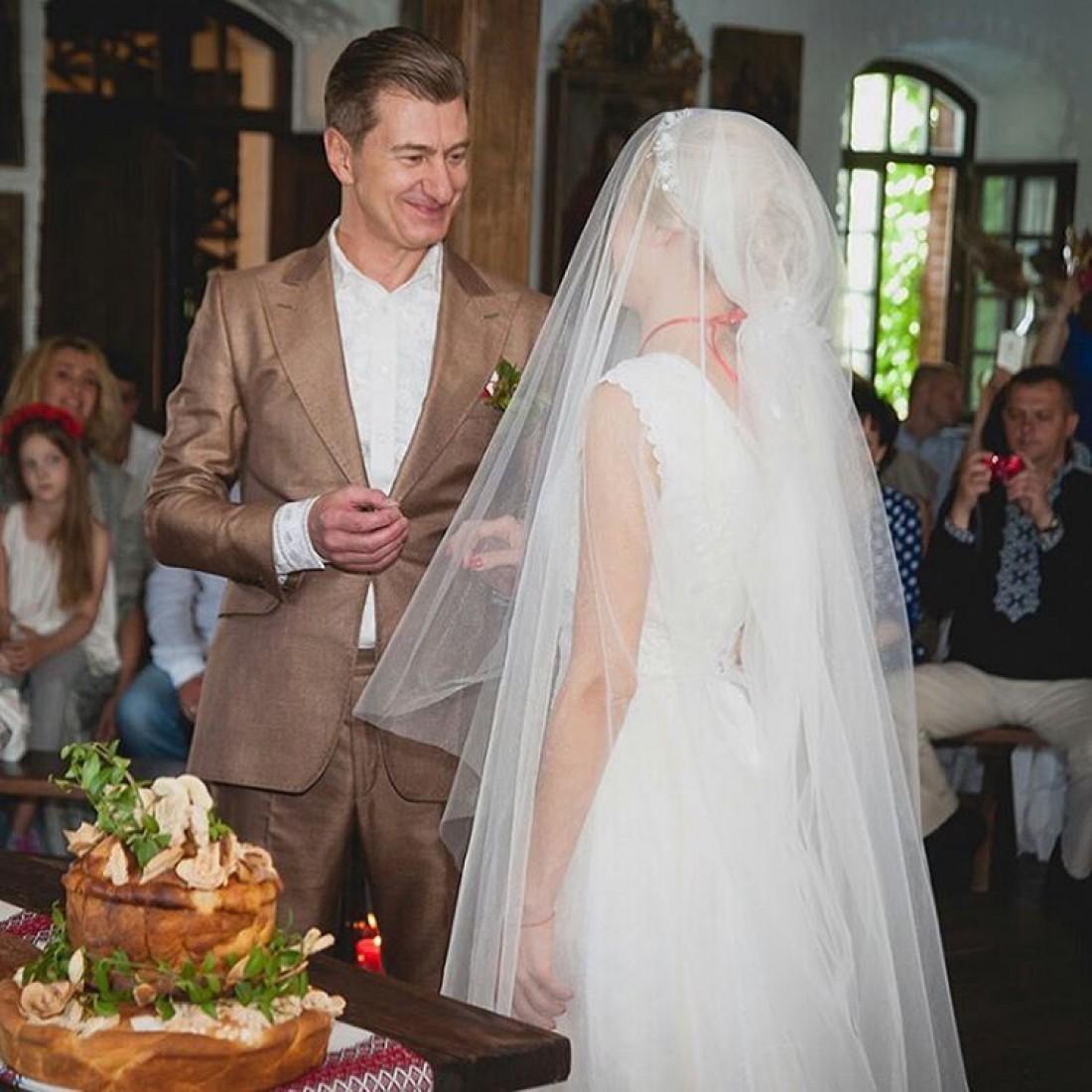 Фото со второй свадьбы Горбачевой и Никитина. 2016 год.