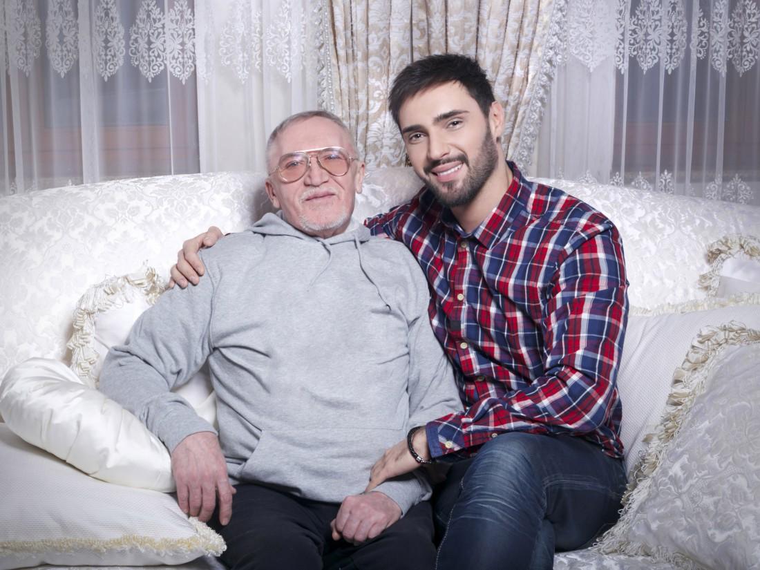 Виталий Козловский с папой