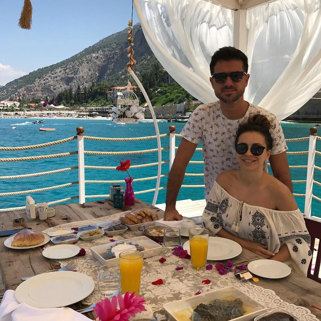 Ани с мужем Муратом