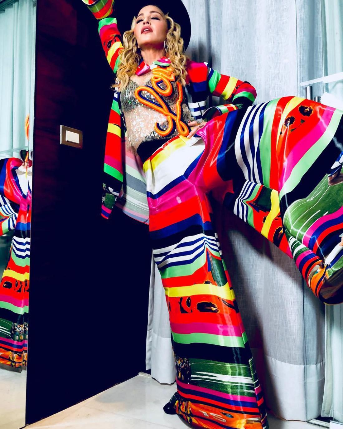 Мадонна в Бразилии