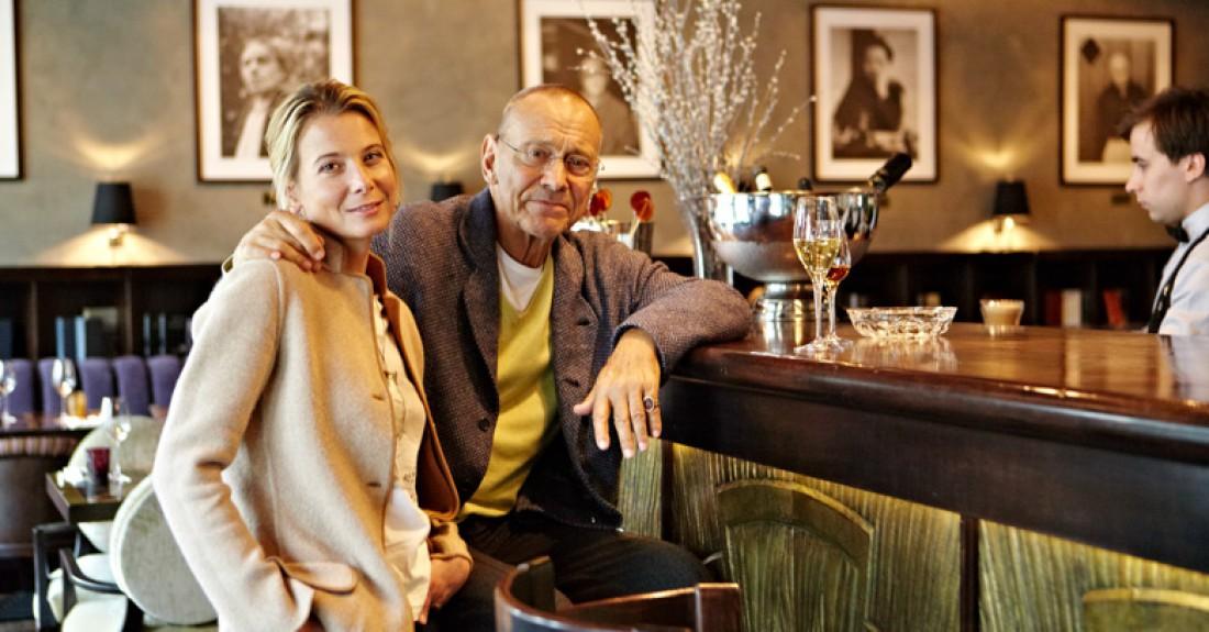 Высоцкая с мужем Кончаловским