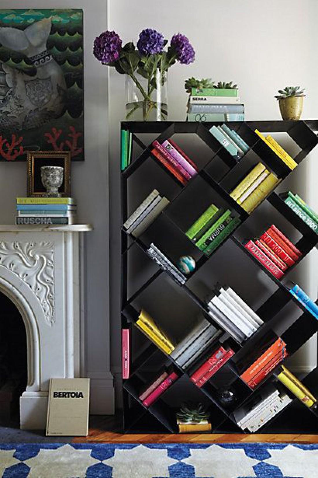 Идеи полок для книг