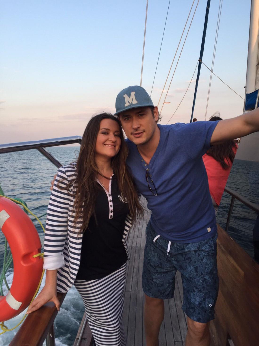 Наталья Могилевская с Александром Цимбалюком