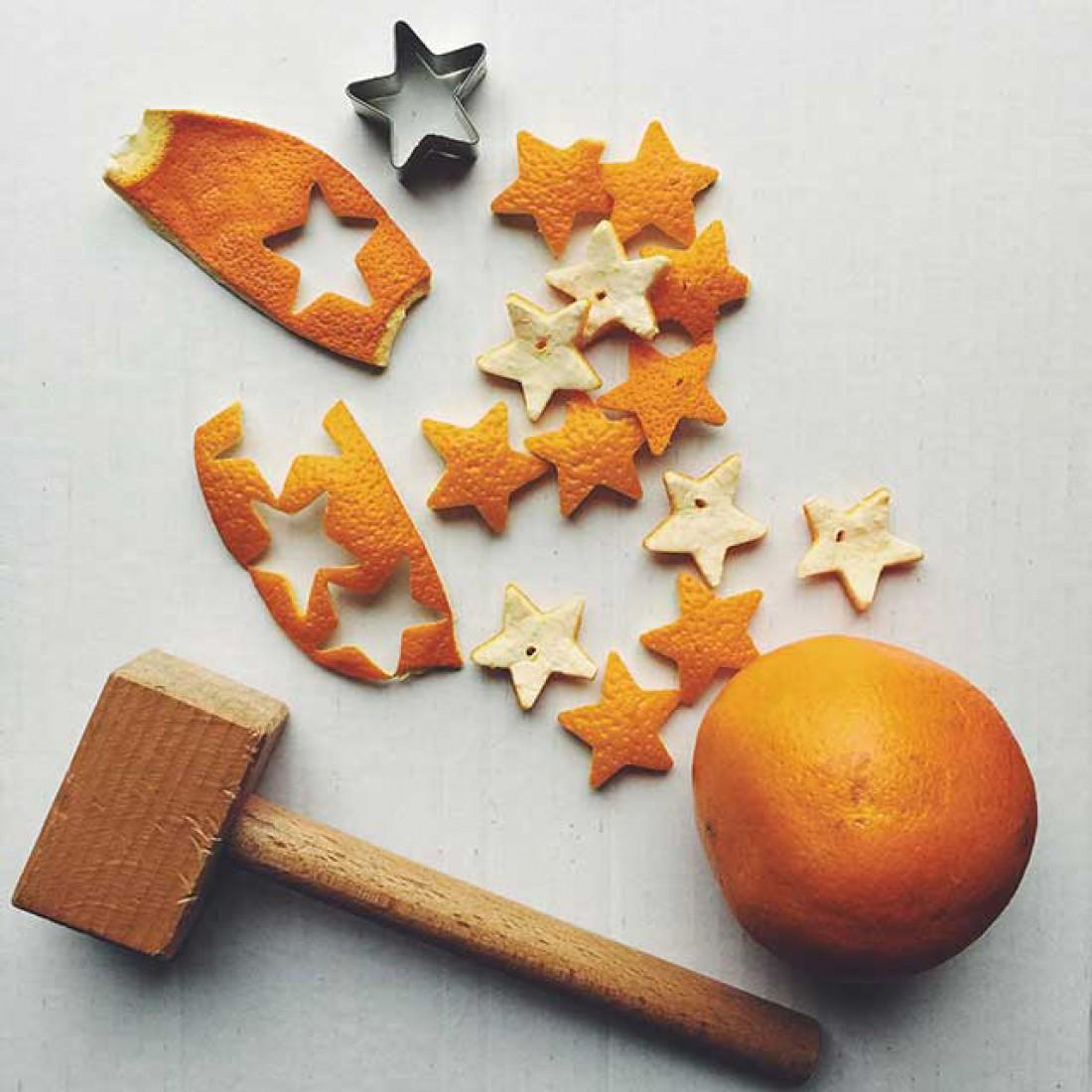 Маска на основе апельсиновых корок предотвращает старение кожи
