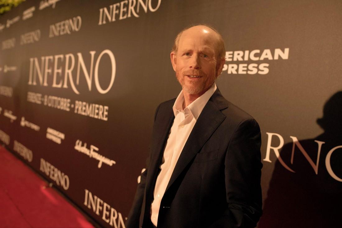 На премьере Инферно во Флоренции
