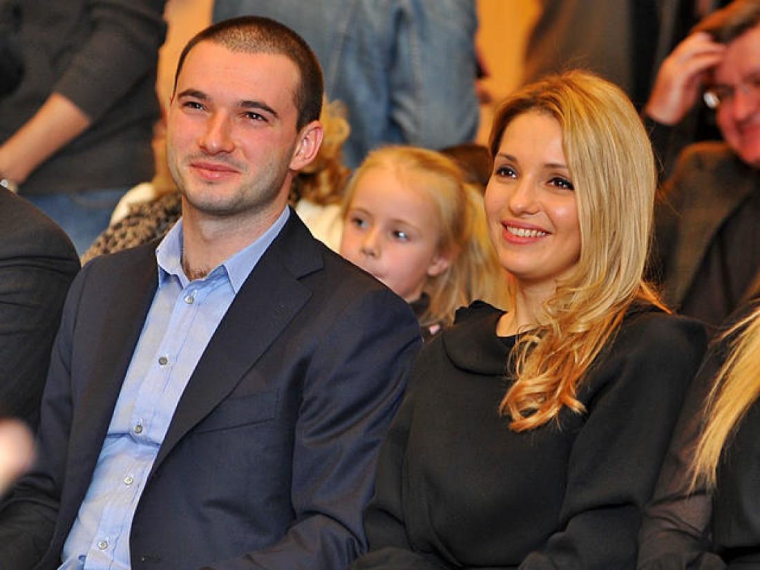 Евгения Тимошенко с мужем