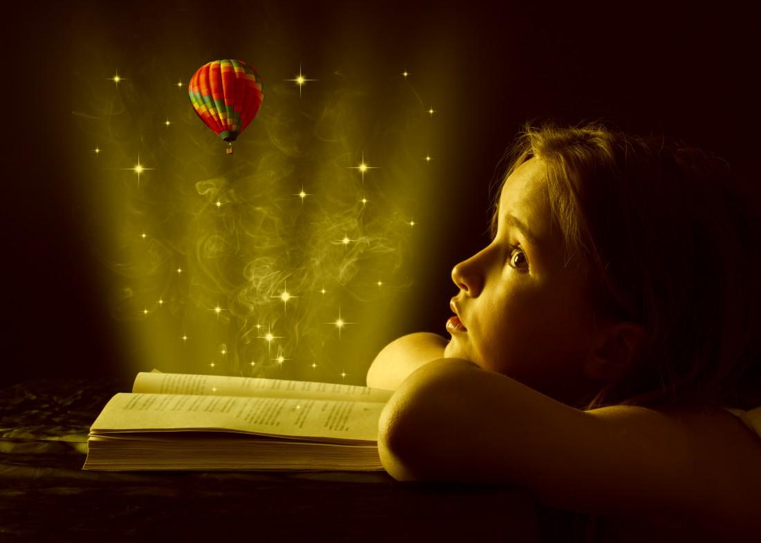 Дети верят в сказки