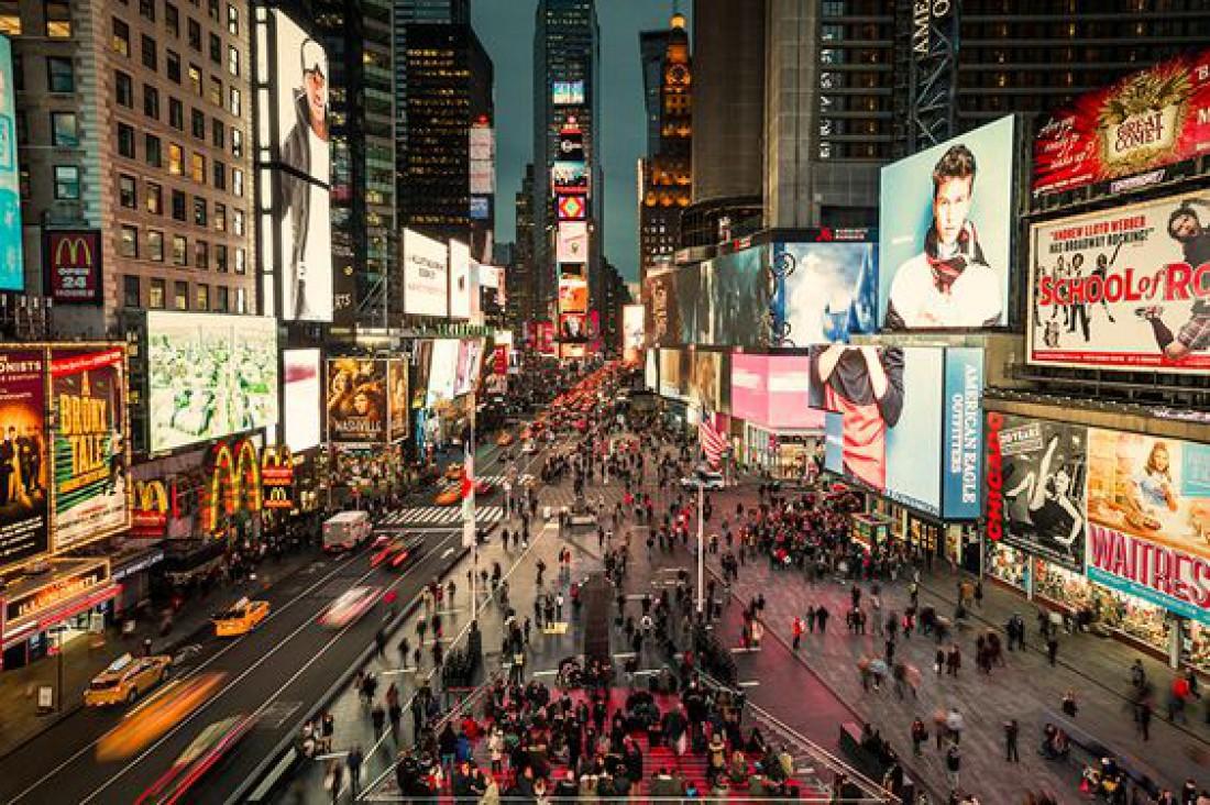 Таймс-сквер (Нью-Йорк, США)
