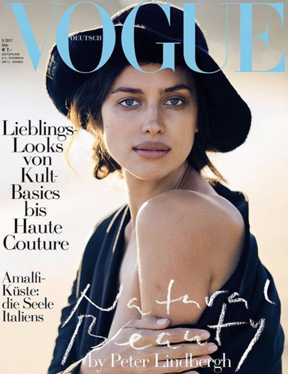 Ирина Шейк на обложке Vogue Germany