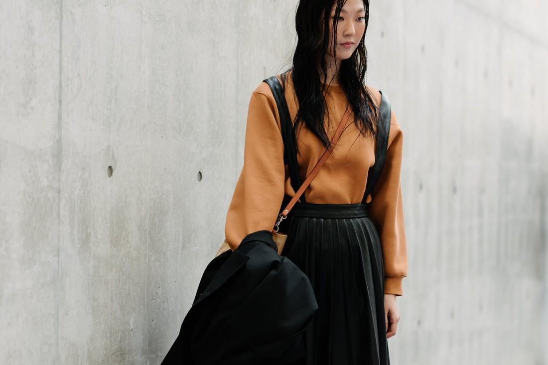 Лучшие образы stree style с Недели моды в Сеуле