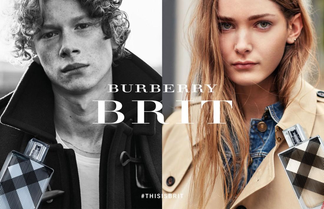 Новая рекламная кампания Burberry