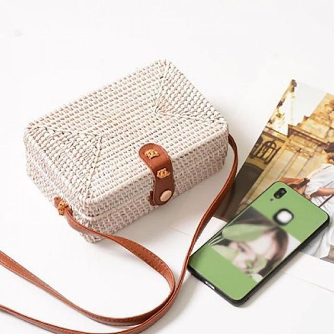 Соломенные сумки 2019: как и с чем носить