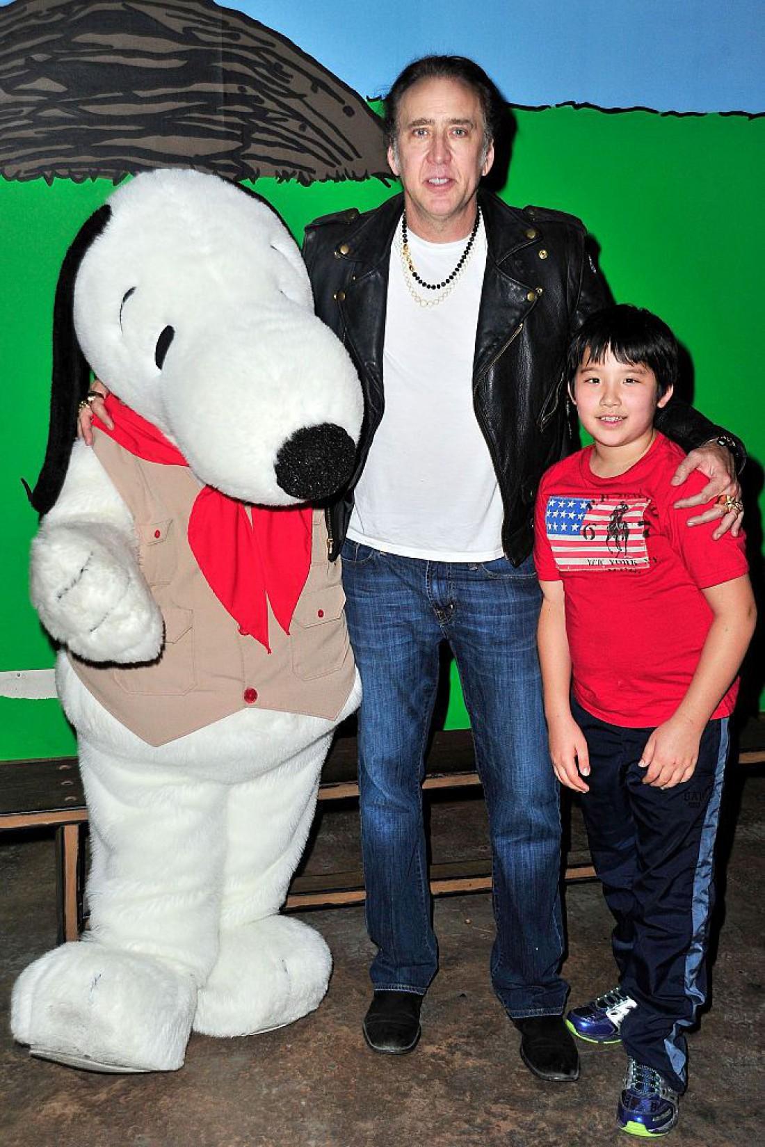 Николас с сыном