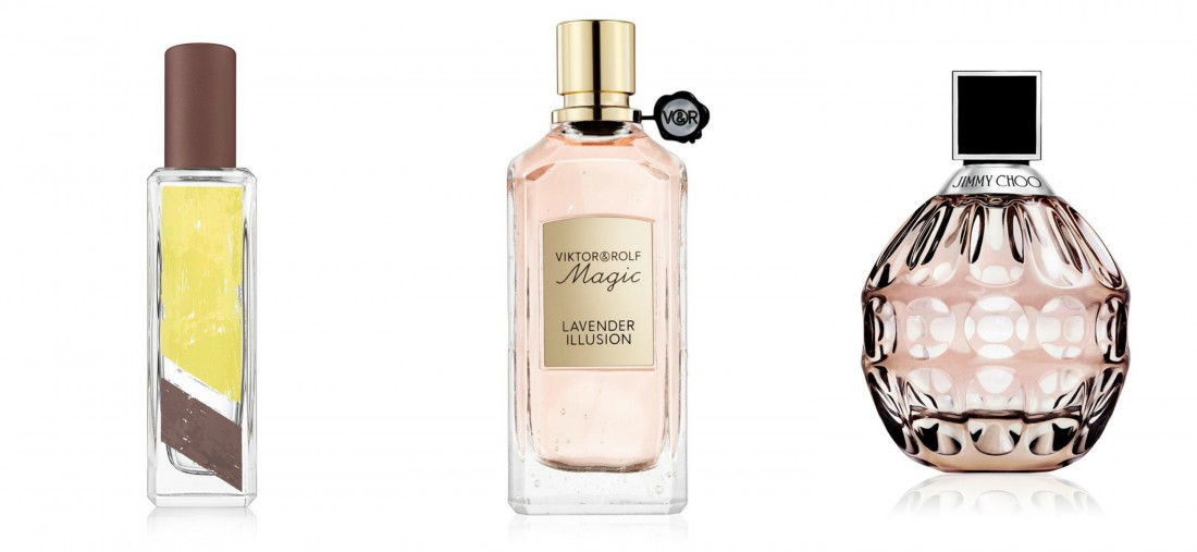 Jo Malone Tobacco & Mandarin, Viktor & Rolf Magic Lavender Illusion, Jimmy Choo Eau de Toilette