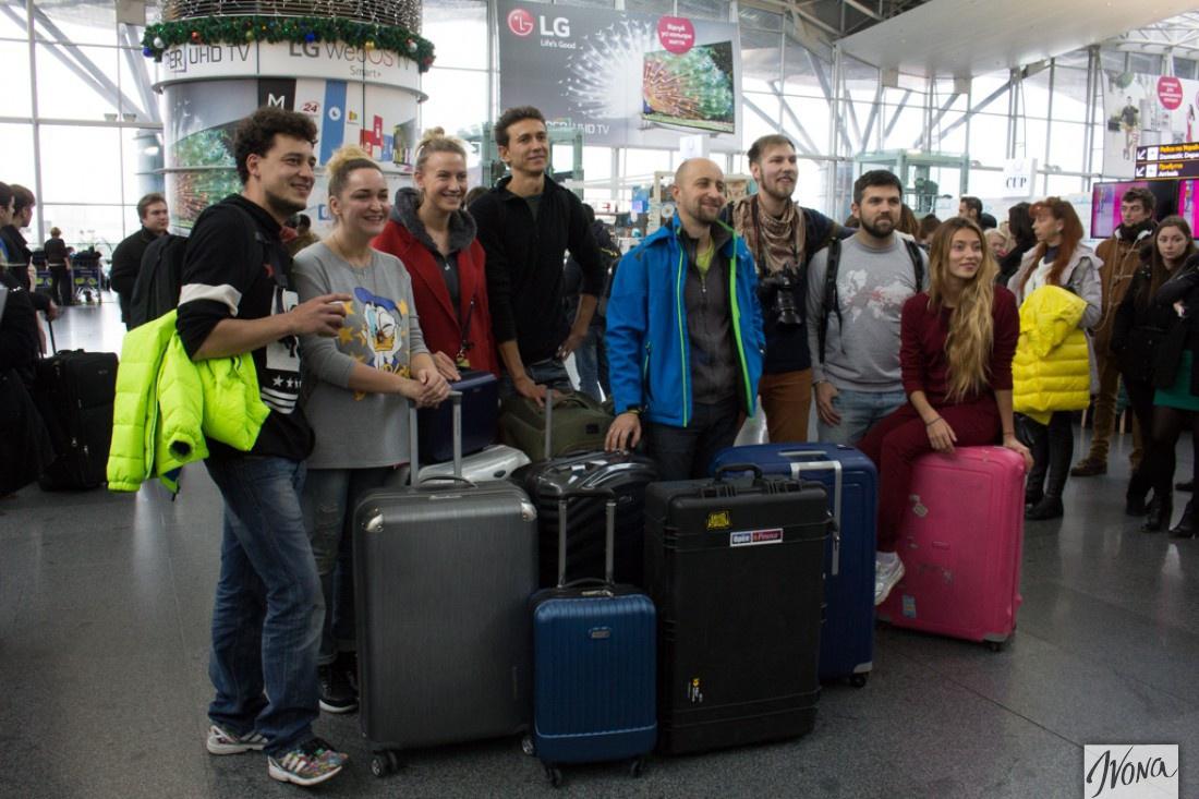 Орел и Решка в аэропорту Борисполя