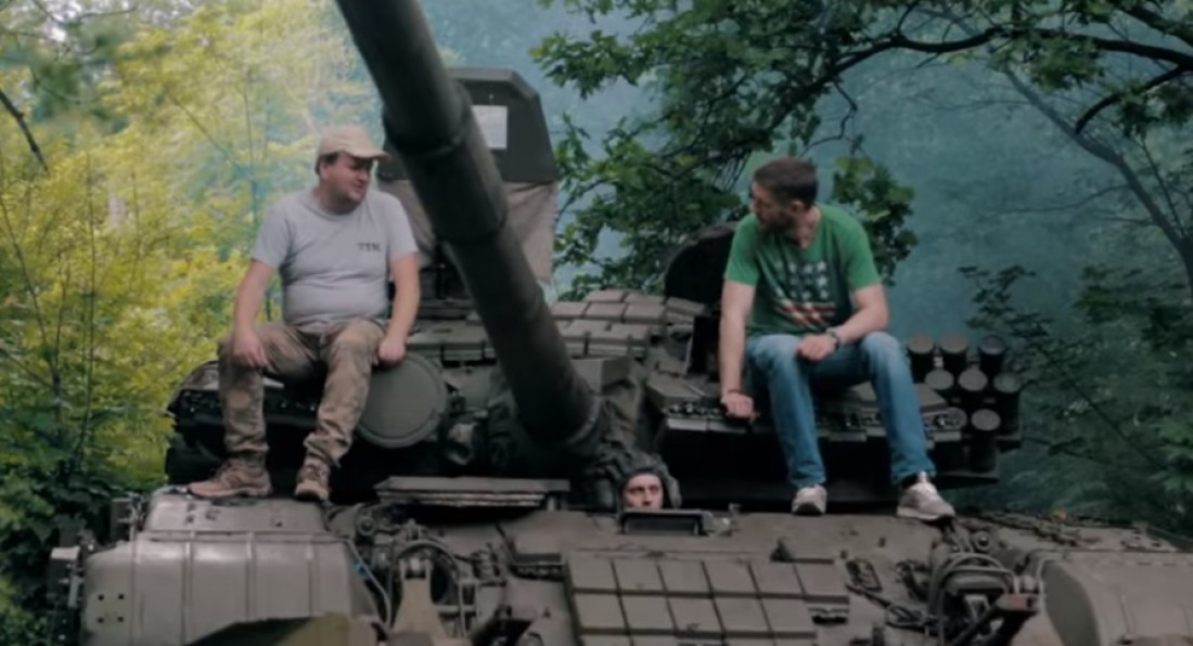 ТИК сняли клип на Донбассе
