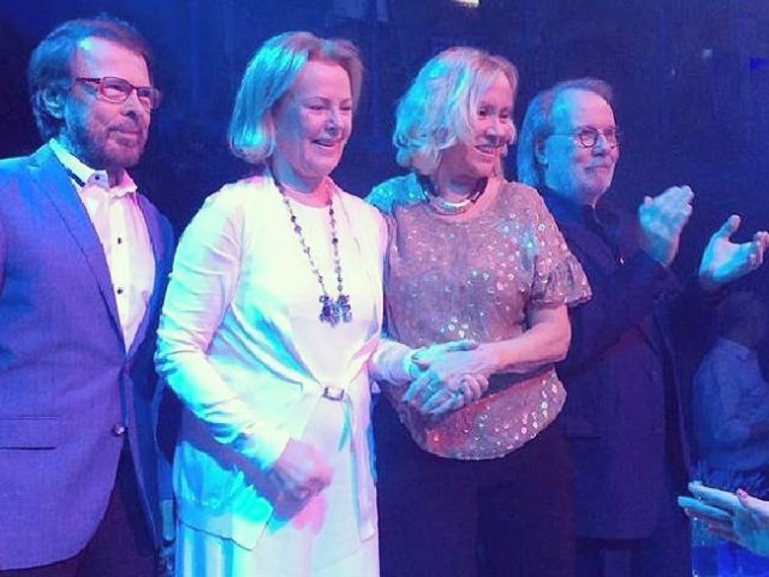 ABBA на сцене Стокгольма