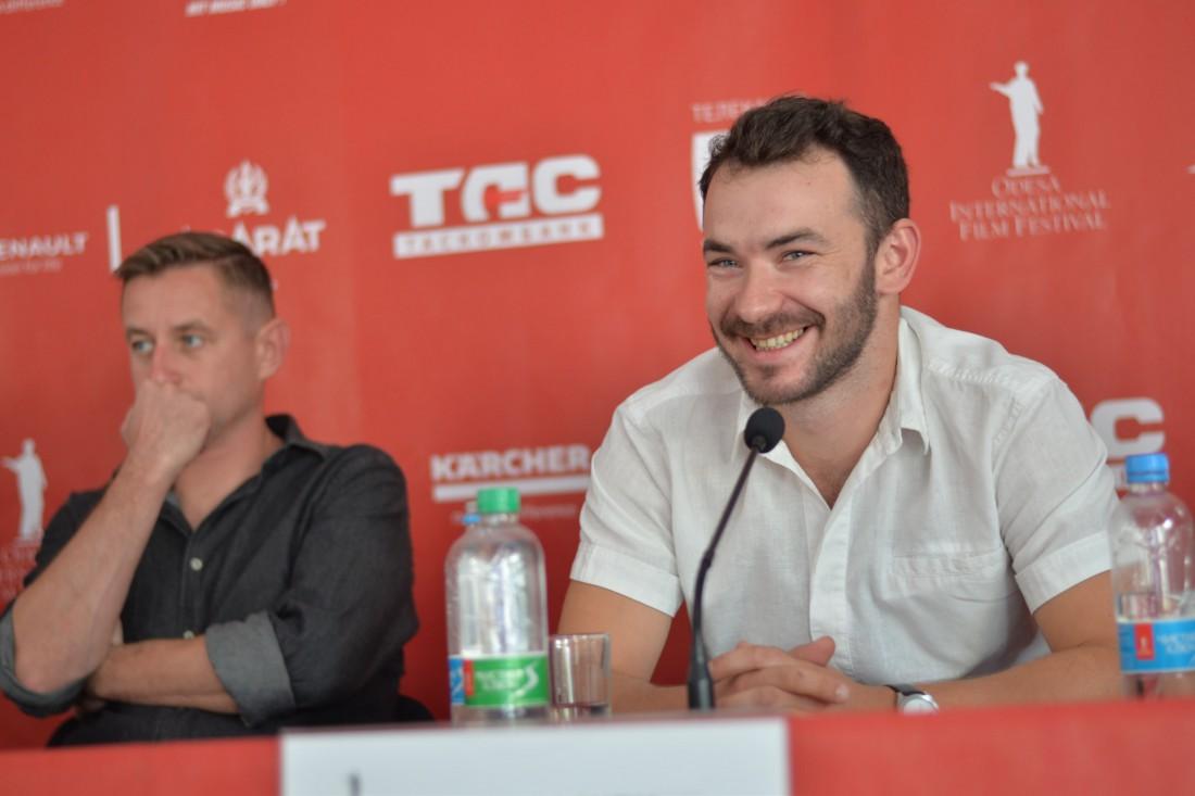 Пресс-конференция с Сергеем Жаданом и командой фильма Ворошиловград