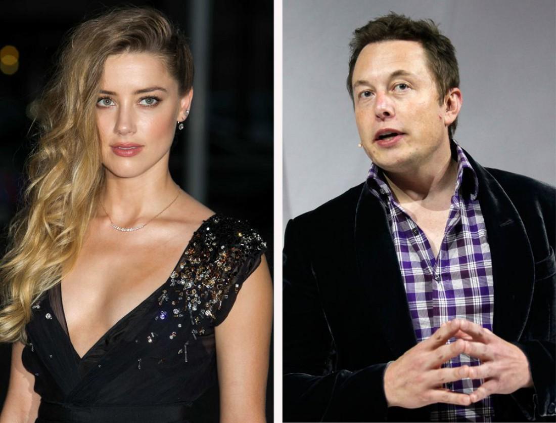 Эмерд Херд и Илон Маск