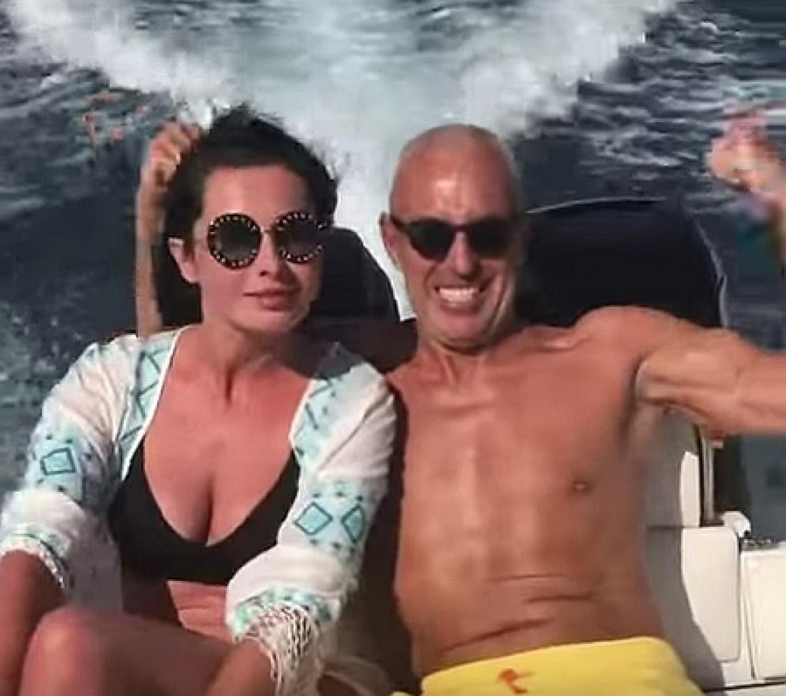 Александр Ярославский с женой