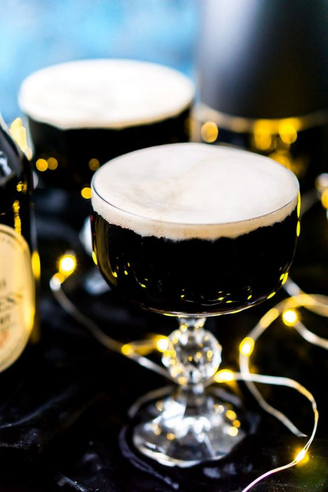 Черный бархат: рецепт коктейля