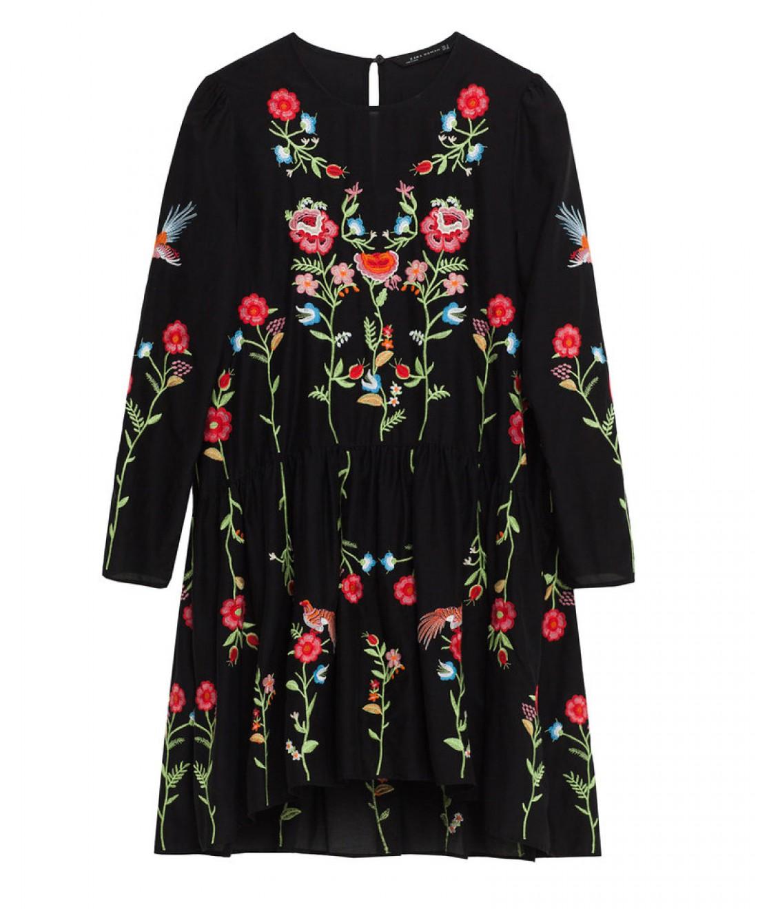 Платье с заниженной талией: вариант № 2
