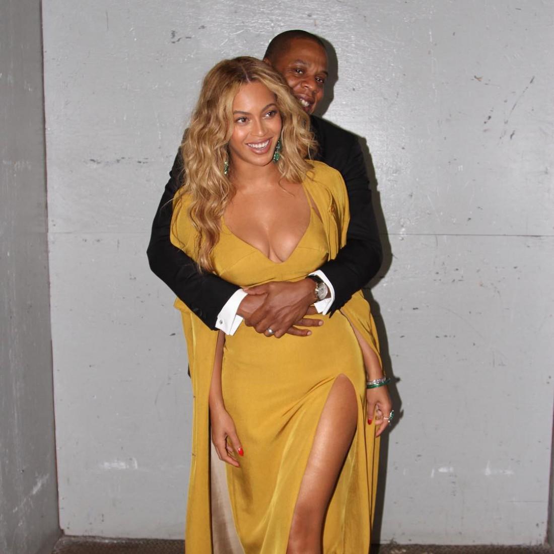 Бейонсе с мужем  Jay Z