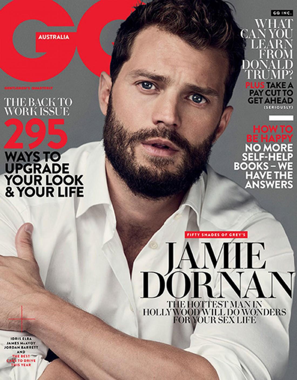 Обложка журнала GQ