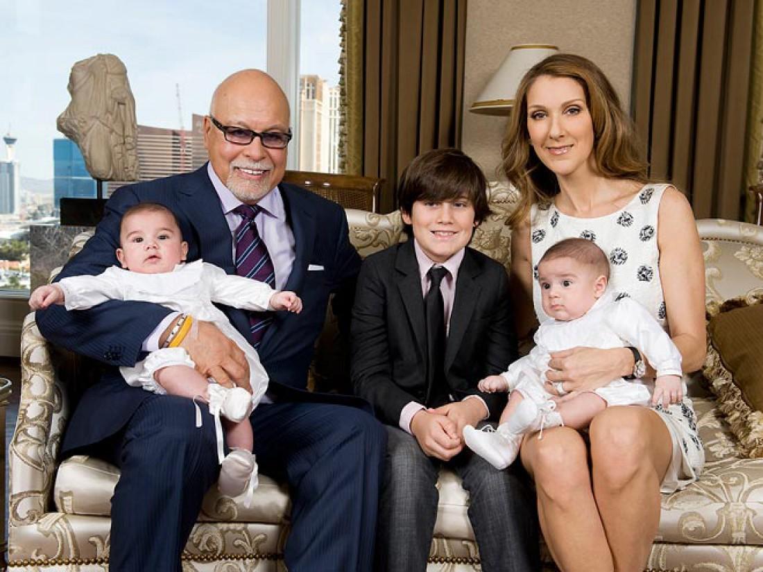 Супруги с детьми